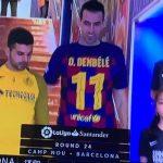 Μπαρτσελόνα: Με φανέλα του Ντεμπελέ όλοι οι παίκτες του Σετιέν
