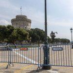 Κορονοϊός Θεσσαλονίκη: Drone στην παραλία καλεί τον κόσμο να περιορίσει τις μετακινήσεις