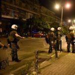 Δέκα προσαγωγές για τα χθεσινοβραδινά επεισόδια στη Θεσσαλονίκη