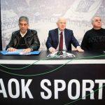 ΠΑΟΚ: Πετά το μπαλάκι στον Αυγενάκη για τις τύχες των πρωταθλημάτων