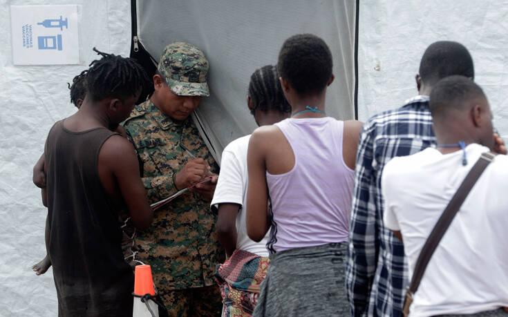 Κρούσματα κορονοϊού σε κέντρα υποδομής μεταναστών στον Παναμά