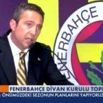 Φενέρμπαχτσε: Ο Αλί Κοτς προανήγγειλε τεράστιες μειώσεις στο μπάτζετ