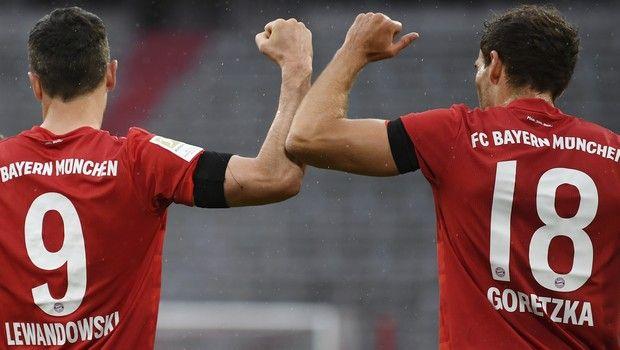 Μπάγερν - Άιντραχτ: Ο Γκορέτσκα το 1-0 για τους Βαυαρούς