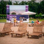 Το Βίλνιους μετέτρεψε την κεντρική του πλατεία σε… παραλία για το φετινό καλοκαίρι