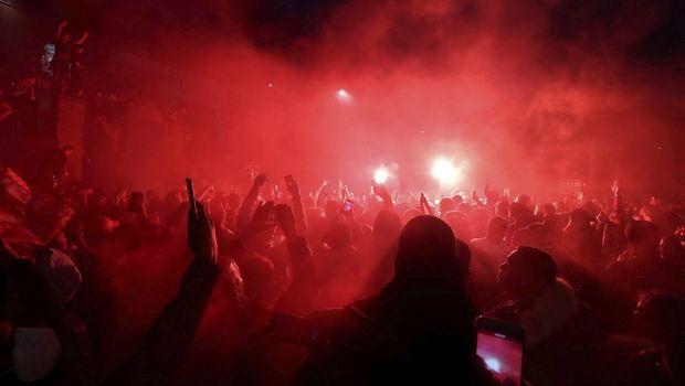 Λίβερπουλ: Απογοητευμένη απ' όσους πανηγύρισαν έξω από το Άνφιλντ