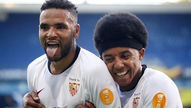 Σεβίλλη - Ρόμα: Τα δυο γκολ των Ανδαλουσιάνων στο πρώτο ημίχρονο