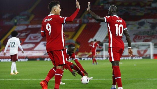 """Λίβερπουλ - Άρσεναλ 3-1: Κόκκινη υπεροχή και """"3 στα 3"""" για τους πρωταθλητές"""