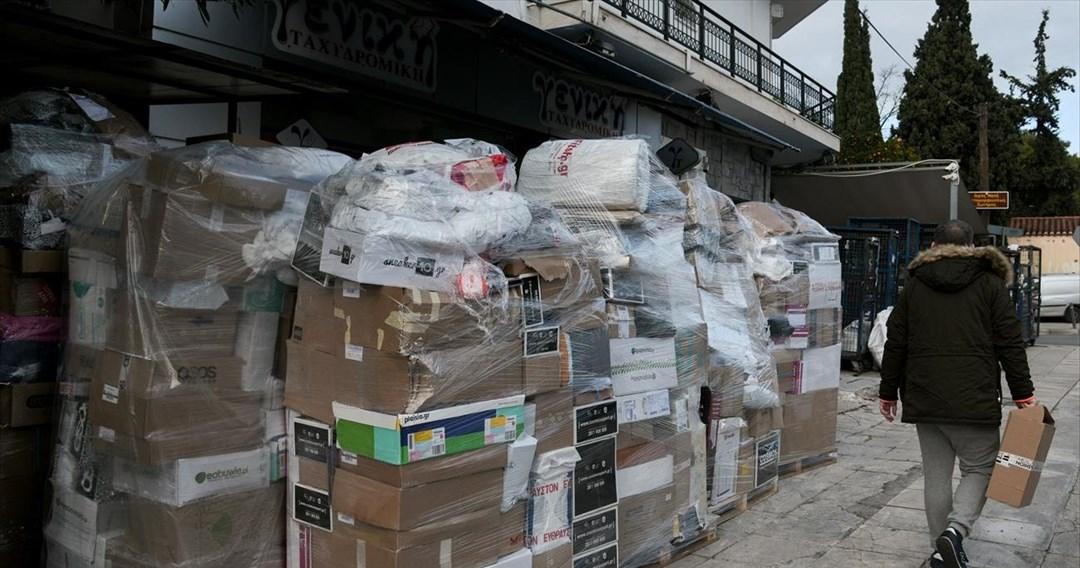Υπερφόρτωση στις εταιρείες courier- Να προστατεύσει το υπουργείο τους εργαζόμενους