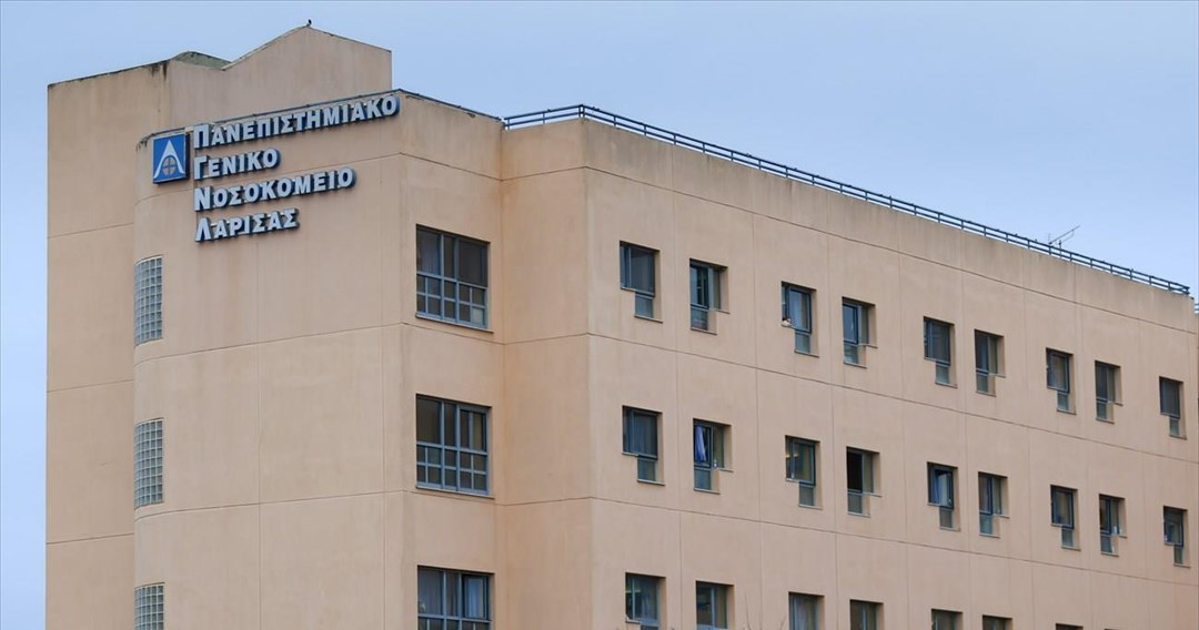 Υπέγραψε τη σύμβαση με το Γενικό Νοσοκομείο Λάρισας ο βουλευτής ΚΚΕ Γ. Λαμπρούλης