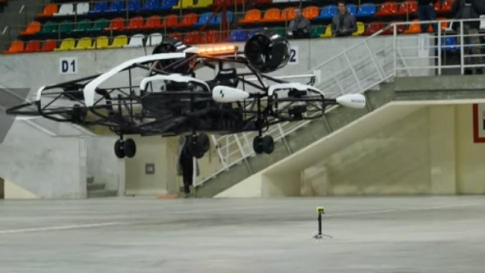 Επανάσταση στις μεταφορές: Το πρώτο ρωσικό ταξί – drone παρουσιάστηκε στη Μόσχα