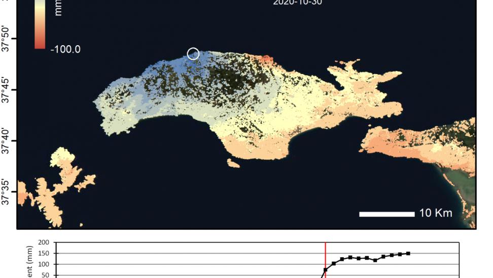 «Από Σάμο, Μεξικό»: Ερευνητές ΑΠΘ, ESA δείχνουν πως φυσικες καταστροφές μετακινούν έδαφος