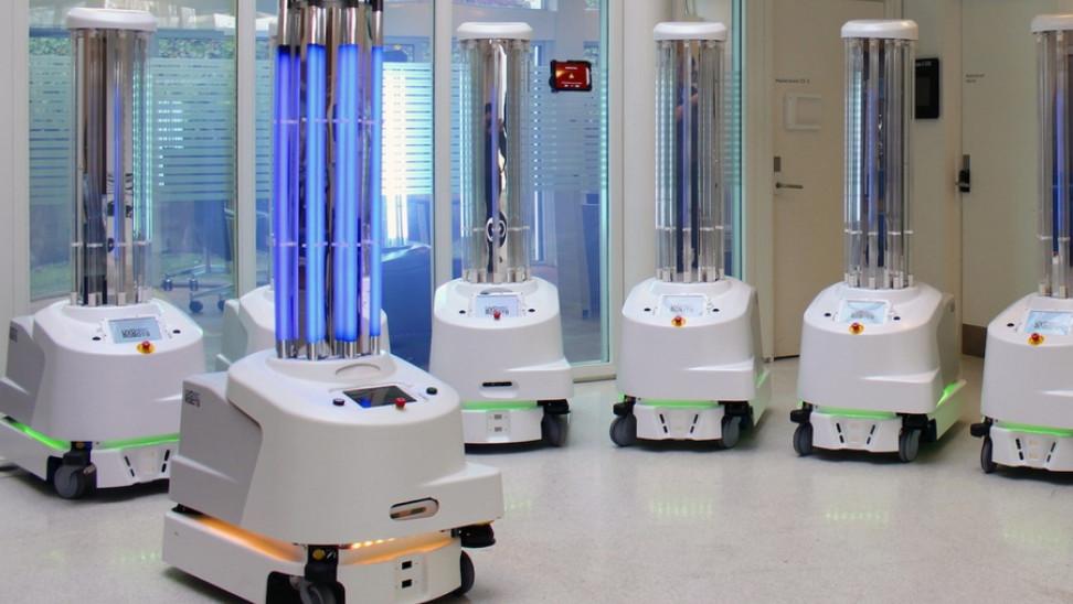 Νέο όπλο κατά κορωνοϊού: Φθάνουν και στα νοσοκομεία Ελλάδας τα πρώτα ρομπότ απολύμανσης ΕΕ