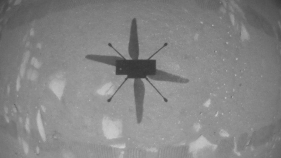 NASA: Γεγονός η ιστορική πτήση στον 'Αρη από το ελικόπτερο Ingenuity