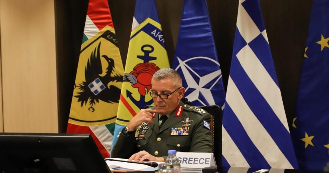 Στις Βρυξέλλες αύριο ο στρατηγός Κων. Φλώρος για τις συνόδους σε επίπεδο αρχηγών ΓΕΕΘΑ