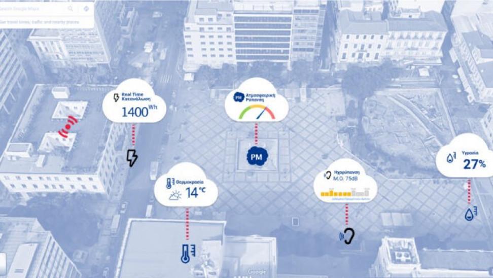 «Project Αθηνά»: Αισθητήρες της Microsoft στο Δήμο Αθηναίων για καθαριότητα και προσβασιμότητα