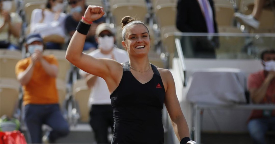 Roland Garros: «Έγραψε ιστορία» η Σάκκαρη