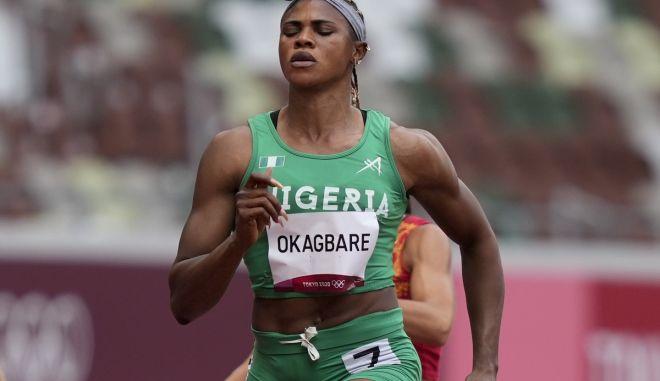Ολυμπιακοί Αγώνες – Στίβος: Ντοπέ η Οκαγκμπάρε, μένει εκτός ημιτελικού στα 100μ