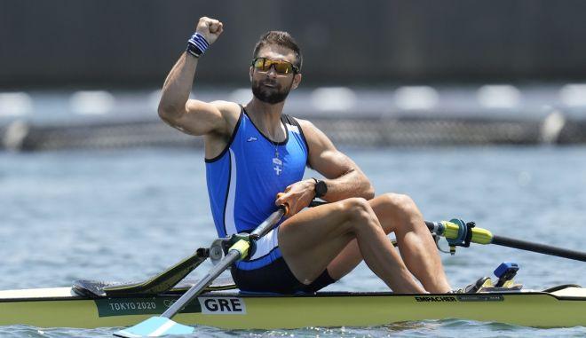 Ντούσκος: Κατέκτησε το πρώτο χρυσό μετάλλιο της ελληνικής κωπηλασίας σε Ολυμπιακούς