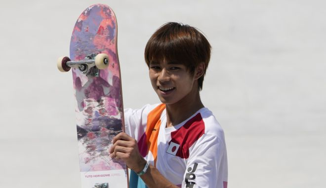 Ολυμπιακοί αγώνες – Σκέιτμπορντ: Ο Ιάπωνας Χοριγκόμε κατέκτησε το πρώτο χρυσό μετάλλιο
