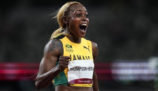 Ολυμπιακοί Αγώνες – Στίβος: Χρυσή η Τόμπσον στα 100 μέτρα, με τη δεύτερη καλύτερη επίδοση όλων των εποχών