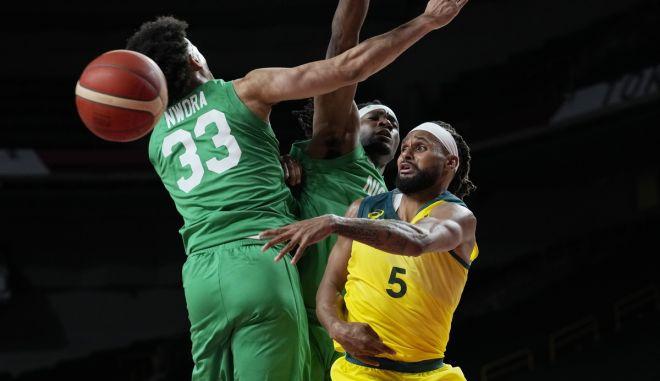 Ολυμπιακοί Αγώνες – Μπάσκετ: Ιδανικό ξεκίνημα η Αυστραλία, 84-65 τη Νιγηρία