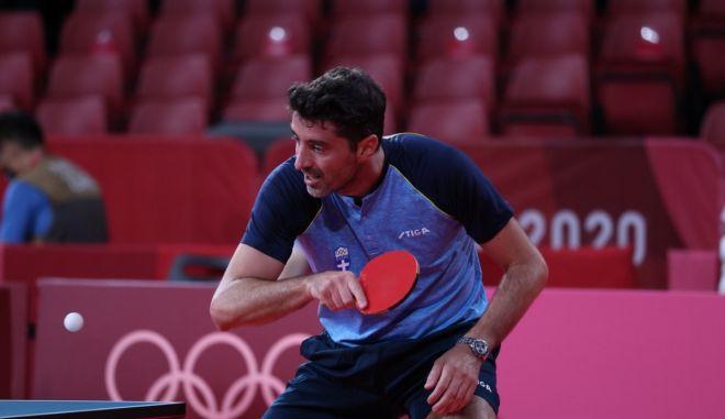 Ολυμπιακοί Αγώνες – Πινγκ πονγκ: Αποκλεισμός για τον Γκιώνη που βρέθηκε έναν πόντο μακριά από την πρόκριση