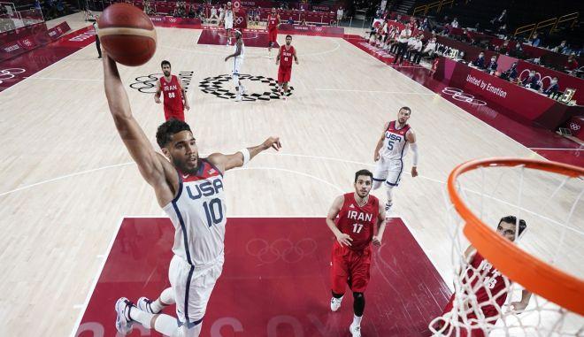 Ολυμπιακοί Αγώνες – Μπάσκετ: H Team USA δεν έδειξε έλεος, 120-66 το Ιράν