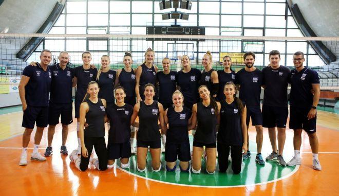 Εθνική βόλεϊ γυναικών: Οι 14 που θα αγωνιστούν στο ευρωπαϊκό