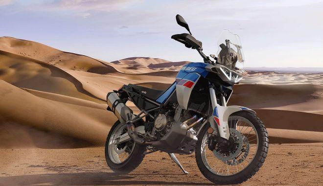 Aprilia Tuareg 660: Η μεσαία Adventure του Νοάλε