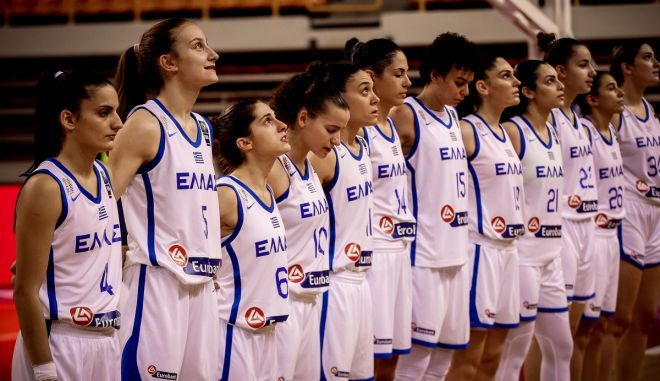 EuroBasket Γυναικών 2023: Αγγλία, Πορτογαλία και Εσθονία οι αντίπαλοι της Εθνικής στα προκριματικά