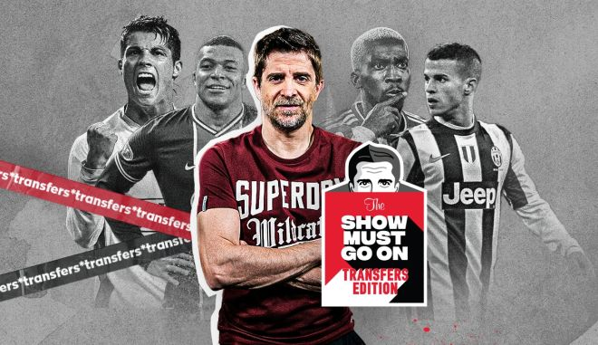 Show Must Go On, Transfers Edition με τον Παντελή Διαμαντόπουλο