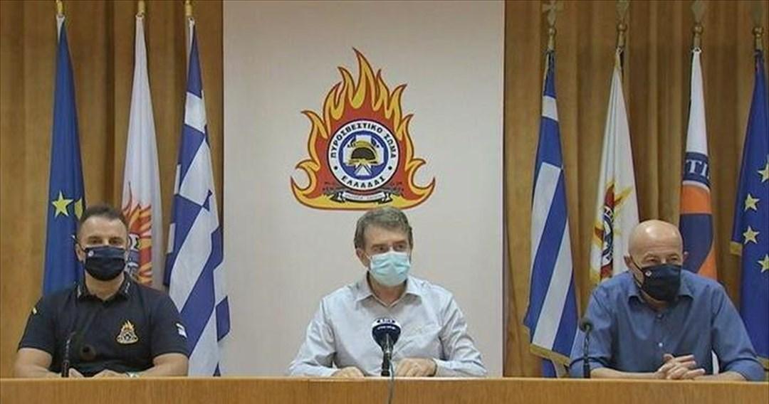 Χρυσοχοΐδης: Σε επιφυλακή το επόμενο τριήμερο για πυρκαγιές