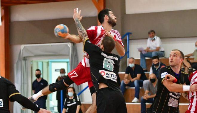 Handball Premier: Σέντρα στο πρωτάθλημα με ντέρμπι Ολυμπιακός – Διομήδης