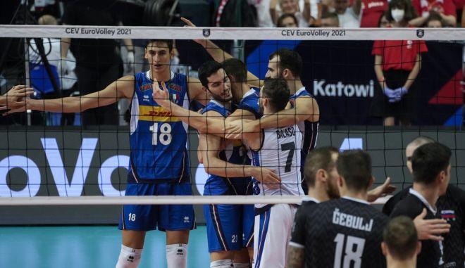 Σλοβενία – Ιταλία 2-3: Πρωταθλητές Ευρώπης με μεγάλη ανατροπή οι Ιταλοί