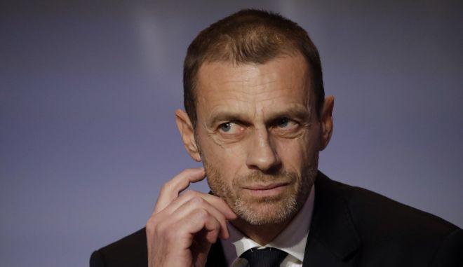 Τσεφέριν: Κεραυνοί κατά Μπαρτσελόνα, Ρεάλ και Γιουβέντους από τον πρόεδρο της UEFA
