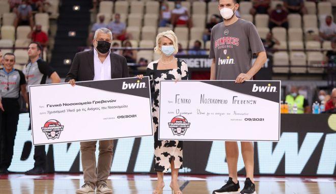 Η δωρεά του Κώστα Παπανικολάου στο Νοσοκομείο Γρεβενών