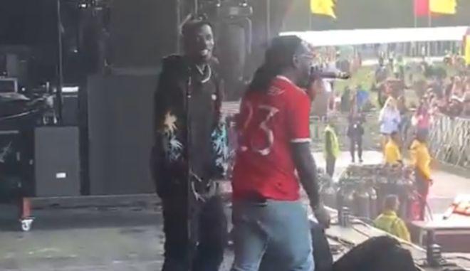 Ο Πογκμπά χόρεψε στη σκηνή με τον Burna Boy μετά το 4-1 της Γιουνάιτεντ επί της Νιούκαστλ