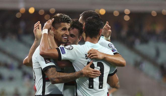 """Αζερμπαϊτζάν – Πορτογαλία 0-3: Έτοιμη να """"κλειδώσει"""" την πρόκριση χωρίς Ρονάλντο"""