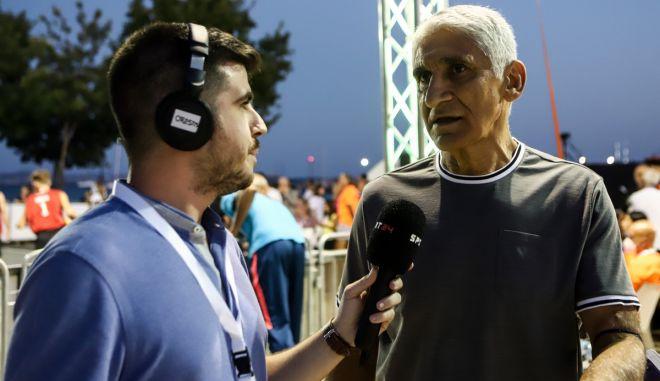 """Παναγιώτης Γιαννάκης στο SPORT24: """"Ο Αντετοκούνμπο τους κέρδισε τους Αμερικανούς, να τους κερδίσουμε ξανά και ως ελληνικό μπάσκετ"""""""