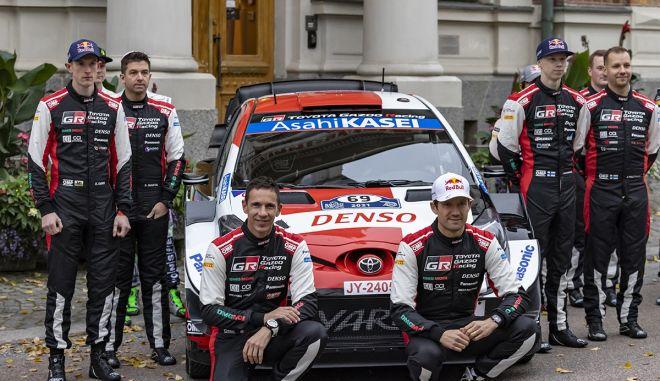 WRC: H Toyota ανακοίνωσε την τετράδα των οδηγών της για το 2022