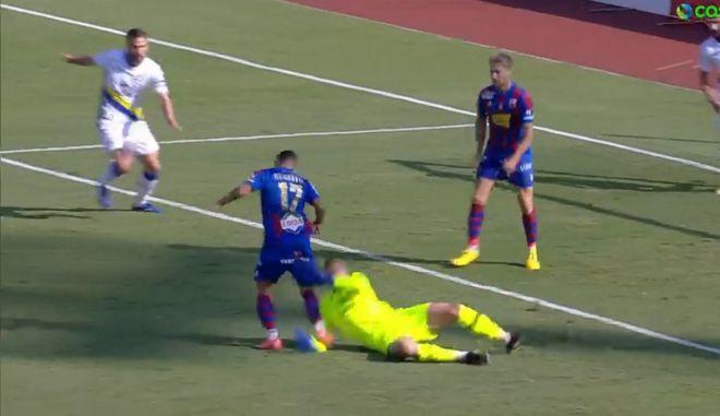 Βόλος – Αστέρας: Πέναλτι του Παπαδόπουλου στον Ρεγκατέν, έκανε το 1-0 ο Φαν Βέερτ