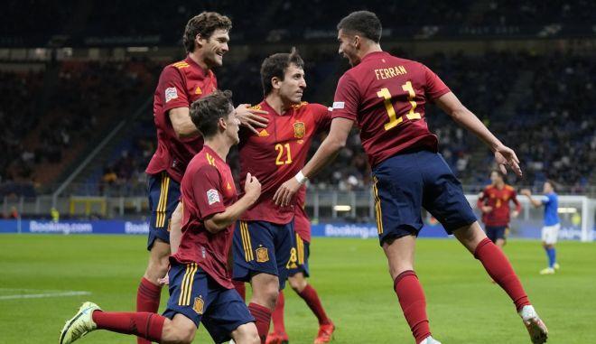 Ιταλία – Ισπανία 1-2: Τα στιγμιότυπα της πρόκρισης των ρόχας στον τελικό του Nations League